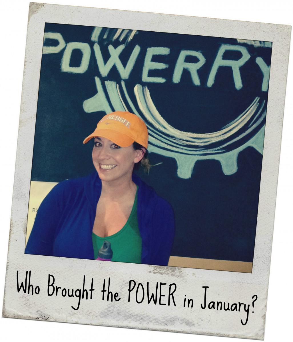 Who Brought the POWER in January?