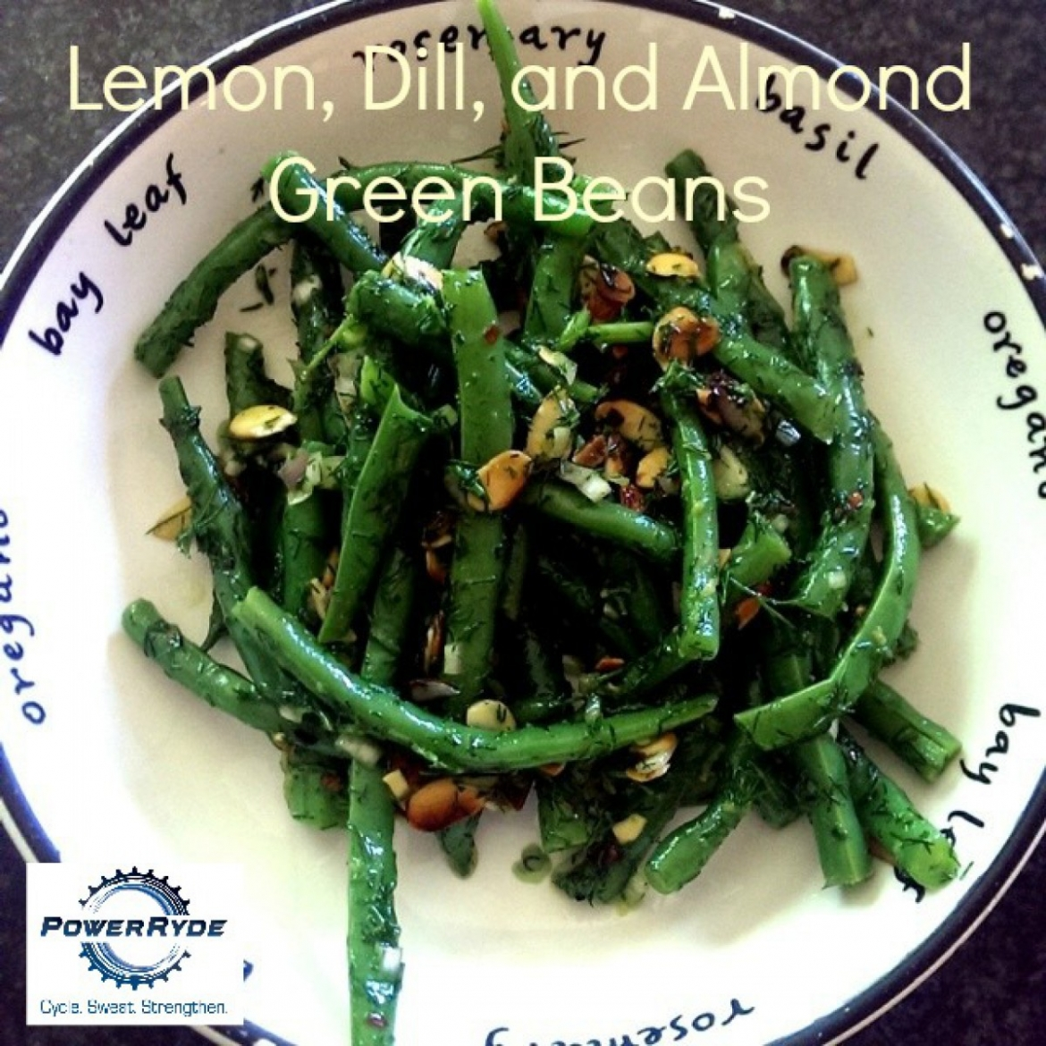 Lemon, Dill, and Almond Green Beans