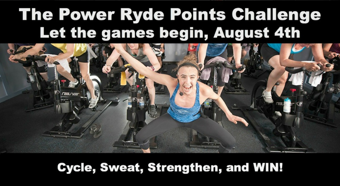 Power Ryde Points Challenge