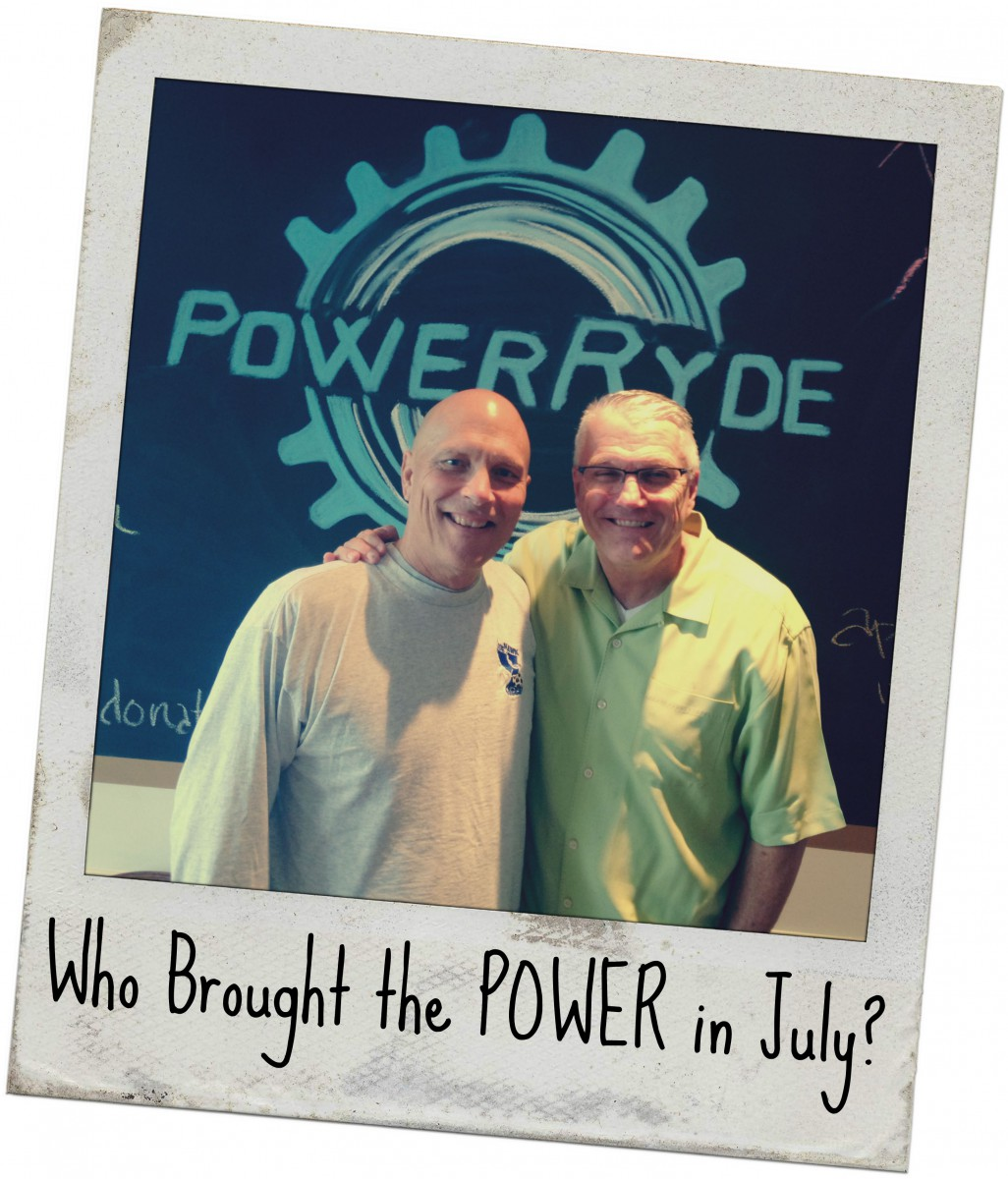 Who brought the POWER in July?