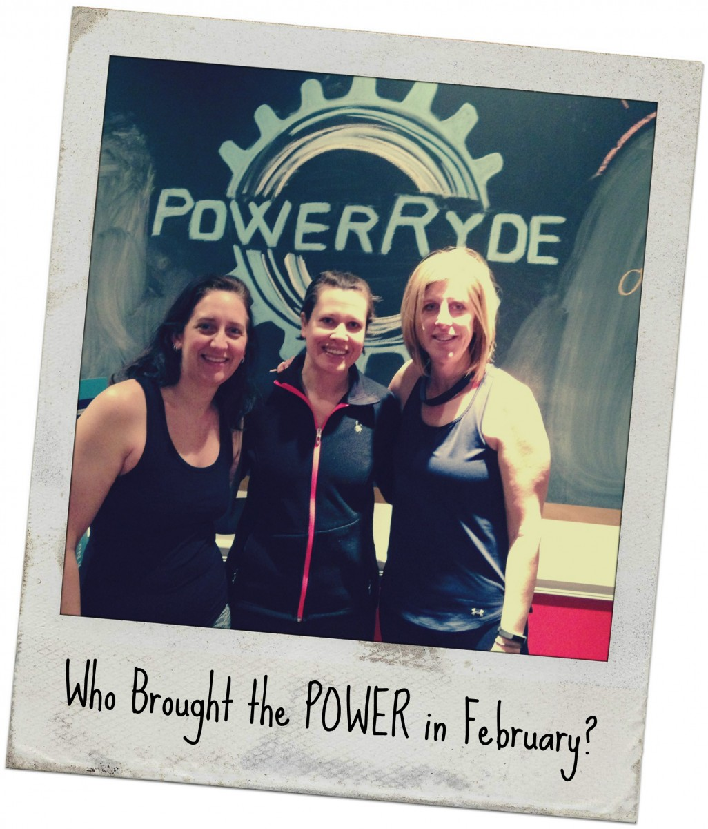 Who Brought the POWER in February?