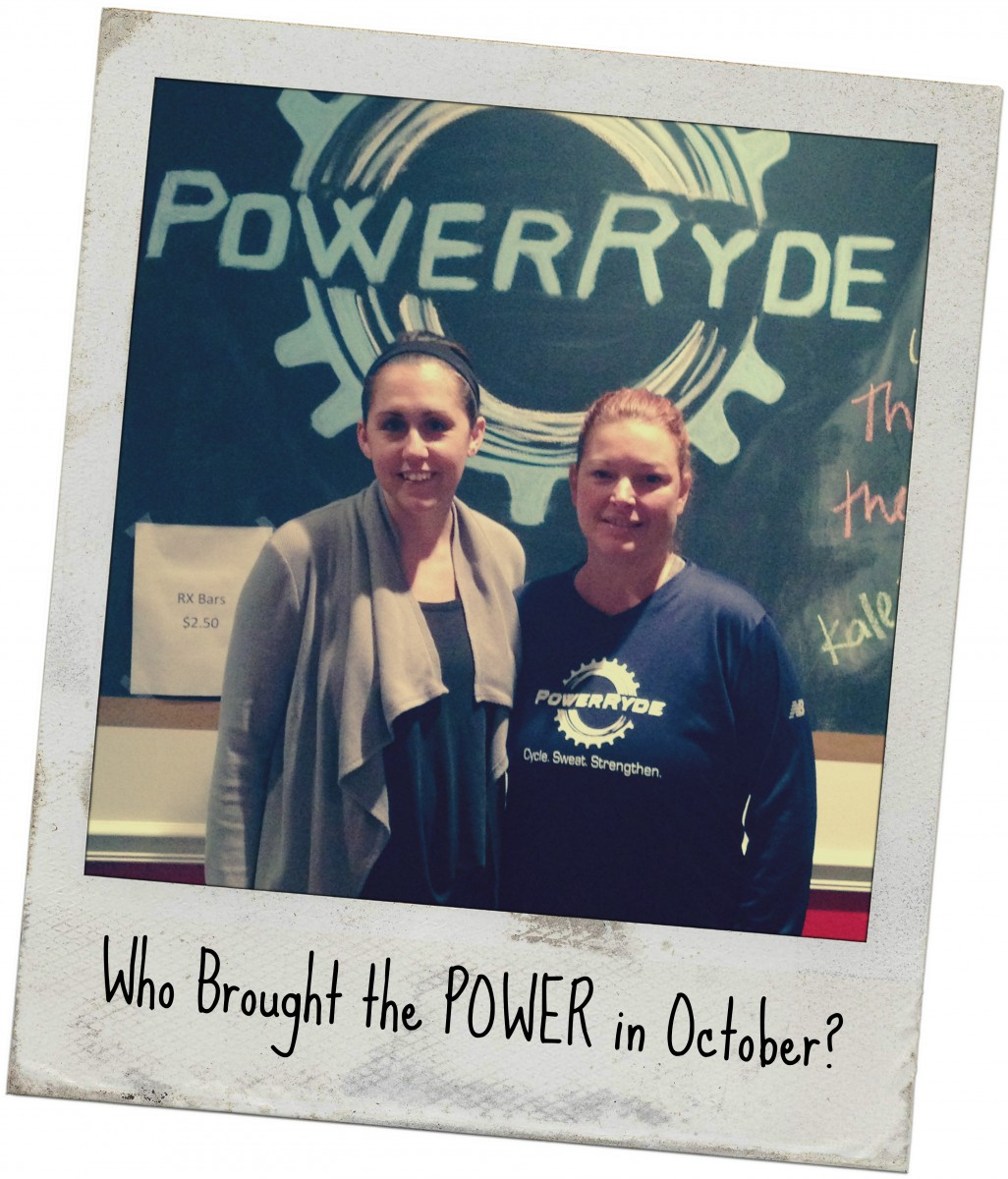 Who Brought the POWER in October?